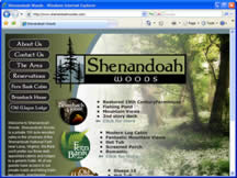 Click to visit the Shenandoah Woods web site