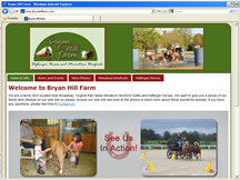 Click here to open the Bryan Hill Farm web site.